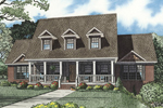 Luxury Country Style House With Curb Appeal
