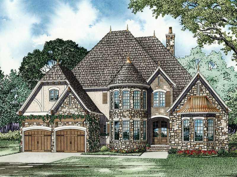 Traditional House Plan Front Image - 055S-0101 | House Plans and More