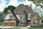 Luxury House Plan Front Image - 055S-0101 | House Plans and More