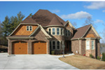 European House Plan Front Photo 01 - 055S-0101 | House Plans and More