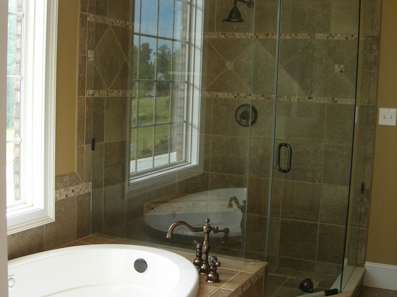 Luxury House Plan Master Bathroom Photo 02 - 055S-0101 | House Plans and More