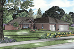 Traditional House Plan Front of Home - 055S-0102 | House Plans and More