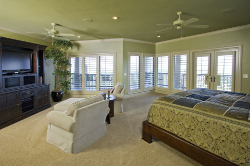 European House Plan Bedroom Photo 01 055S-0103