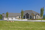 Ranch House Plan Front of Home - 055S-0103 | House Plans and More
