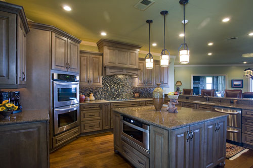 Ranch House Plan Kitchen Photo 01 055S-0103