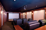 Ranch House Plan Theater Room Photo 01 - 055S-0104 | House Plans and More