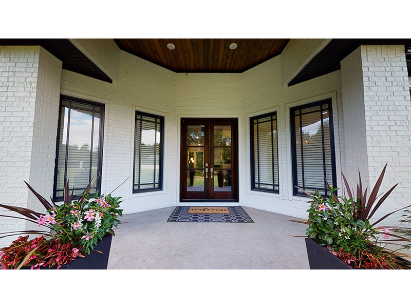 Contemporary House Plan Entry Photo 02 - 055S-0105 | House Plans and More