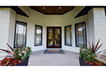 Prairie Style Floor Plan Entry Photo 02 - 055S-0105 | House Plans and More