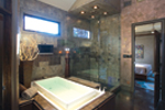 Prairie Style Floor Plan Master Bathroom Photo 01 - 055S-0105 | House Plans and More