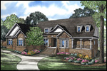 Luxury House Plan Front of Home - 055S-0106 | House Plans and More