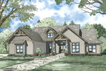 Luxury House Plan Front of Home - 055S-0111 | House Plans and More