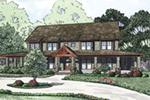 Craftsman House Plan Front of Home - 055S-0112 | House Plans and More