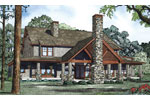 Arts & Crafts House Plan Color Image of House - 055S-0112 | House Plans and More
