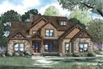 Arts & Crafts House Plan Front of Home - 055S-0113 | House Plans and More