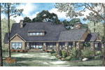 Arts and Crafts House Plan Color Image of House - 055S-0114 | House Plans and More