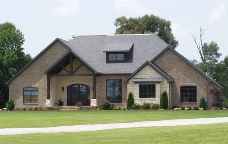 Arts & Crafts House Plan Front of Home - 055S-0116 | House Plans and More