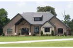Craftsman House Plan Front of Home - 055S-0116 | House Plans and More