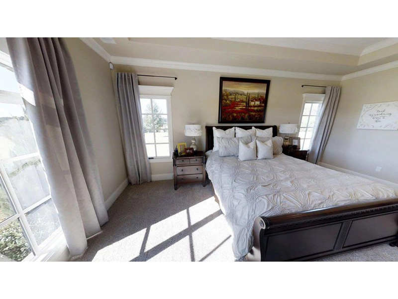 Luxury House Plan Master Bedroom Photo 01 - 055S-0116 | House Plans and More