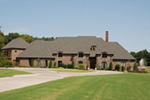 Early American House Plan Front of Home - 055S-0123 | House Plans and More