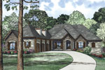 Luxury House Plan Front Image - 055S-0126 | House Plans and More