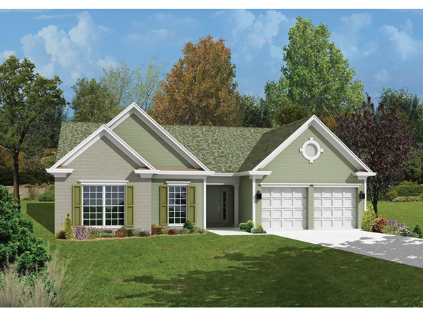 Aspen point ranch home plan 056d 0009 house plans and more for Aspen house plans