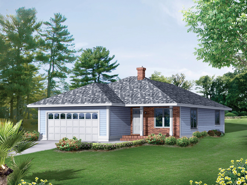 Hearthstone Narrow Saltbox Home Plan 057d 0036 House