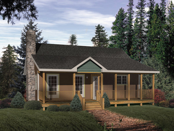 Summerpath Country Cottage Home Plan 058D 0004 House Plans and More