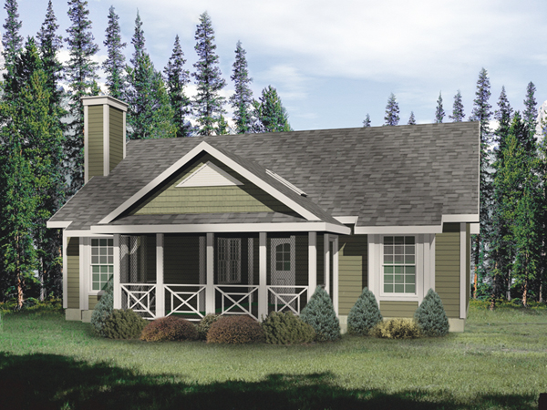 Hickory lane country cabin home plan 058d 0011 house for Cottage additions plans