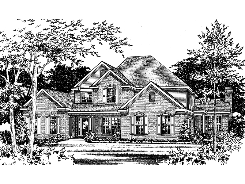 Granberry Southern Luxury Home Plan 058d 0036 House