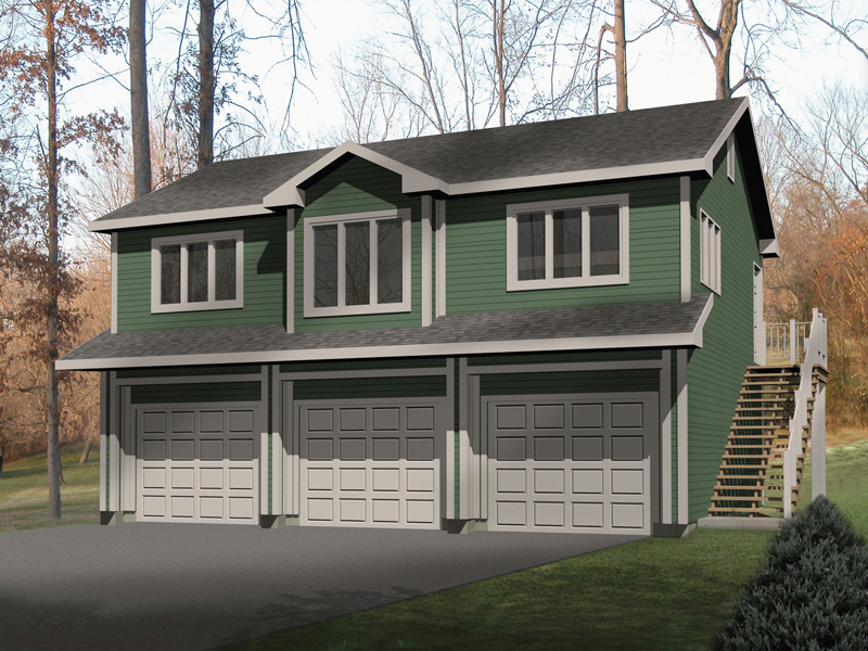 Ohlendorf garage apartment plan 058d 0135 house plans for Contemporary garage apartment plans