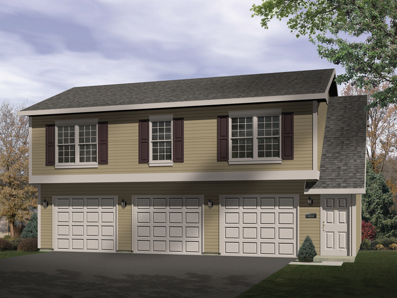 Sidney Large Apartment Garage Plan 058D-0137 | House Plans and More