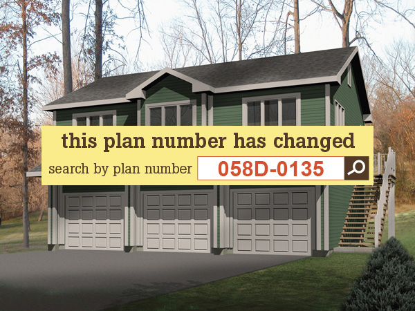 6 Car Garage Plan House Plans