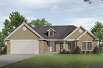 Home's Dormer Adds Curb Appeal