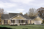 Country Style Ranch With Covered Front Porch