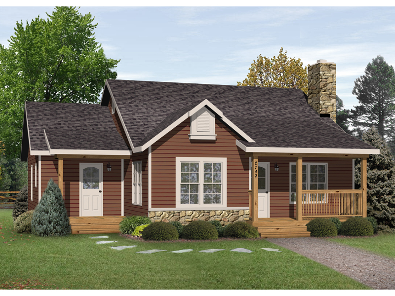 kaiser country cabin home plan 058d 0178 house plans and pics photos cottage cabin small country home plans