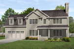 Traditional House Plan Front of Home - 058D-0193 | House Plans and More
