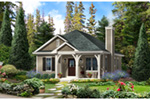 Country House Plan Front of Home - 058D-0198 | House Plans and More