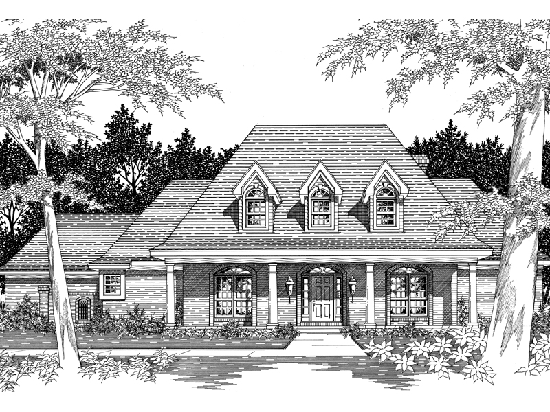 Darvell southern plantation home plan 060d 0053 house Southern plantation house plans