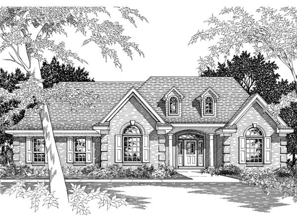 Emmanuel southern ranch home plan 060d 0060 house plans for Southern home and ranch