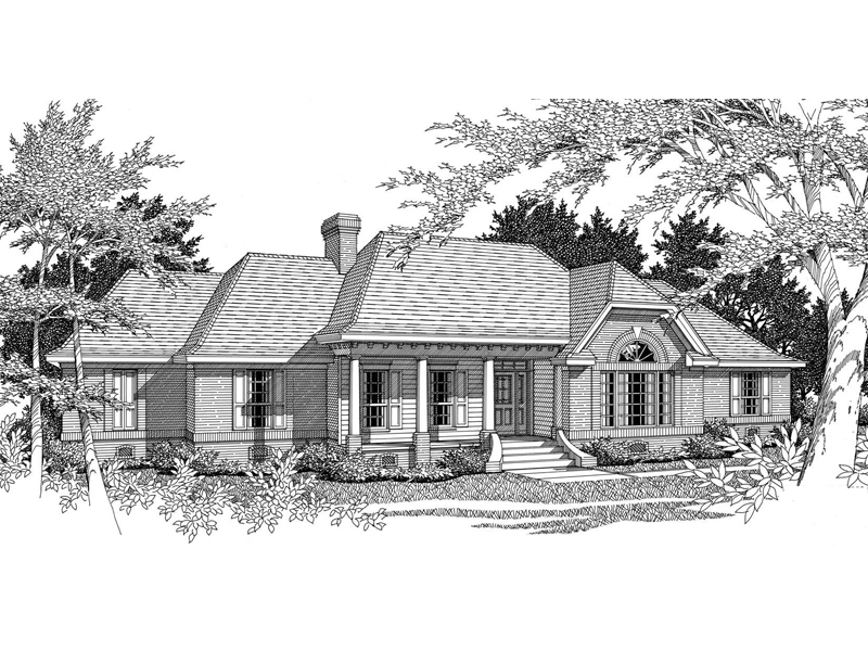 Gildehaus Ranch Home Plan 060d 0077 House Plans And More