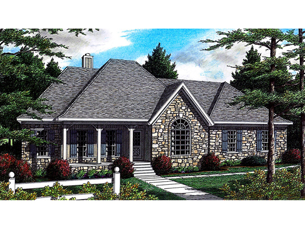 Sprucedale ranch home plan 060d 0078 house plans and more for Sprucedale ranch