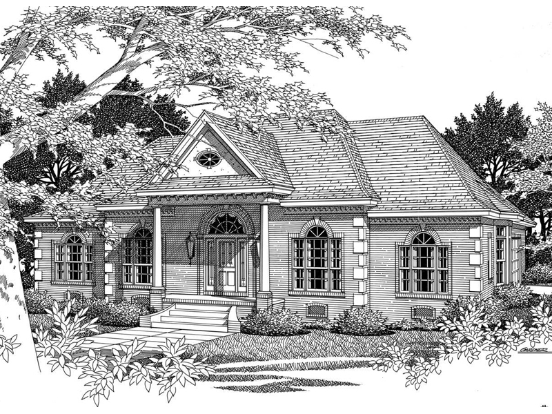 Henry manor neoclassical home plan 060d 0081 house plans for Neoclassical house plans