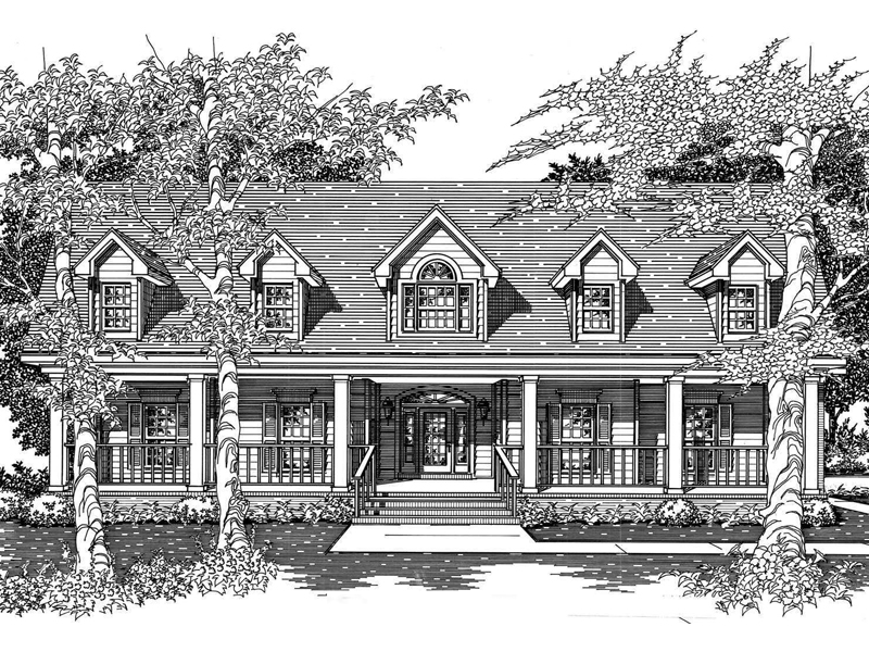 Forestlac luxury cape cod home plan 060d 0087 house for Cape cod luxury homes