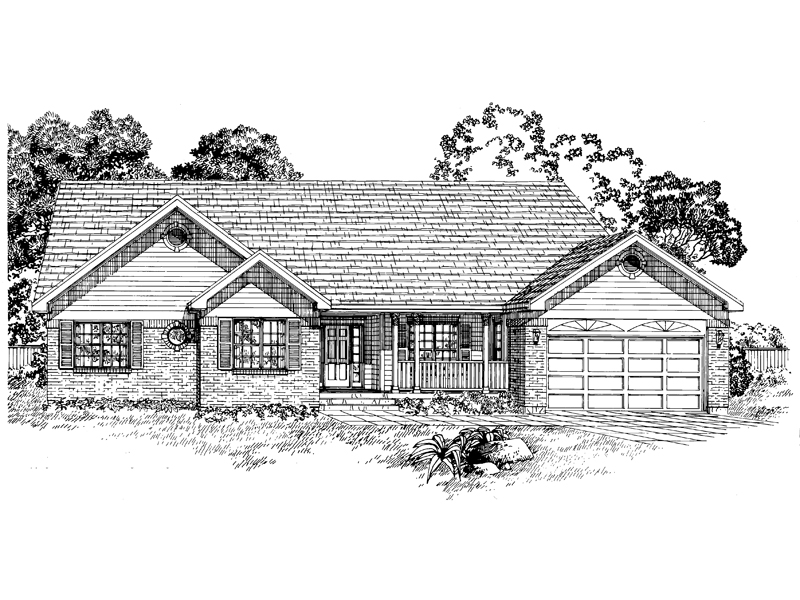 Popular Ranch Style Home