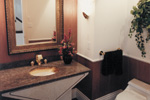 Sunbelt Home Plan Bathroom Photo 01 - 062D-0016 | House Plans and More