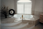 Sunbelt Home Plan Master Bathroom Photo 02 - 062D-0016 | House Plans and More