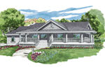 Quaint Home Made For Country Living