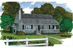 Porch Enhances Farmhouse Style Of This Home