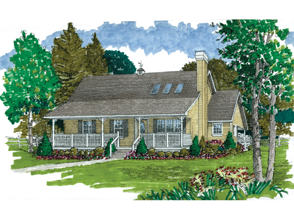 Fayview acadian home plan 062d 0063 house plans and more 2 story acadian house plans