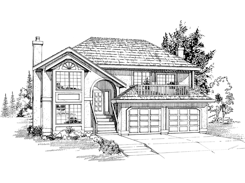 Sunbelt Home Plan Front of Home - 062D-0082 | House Plans and More